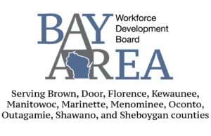 Bay Area Workforce Development Board Logo with Counties