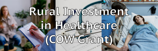 Rural Investment in Healthcare (COW Grant)